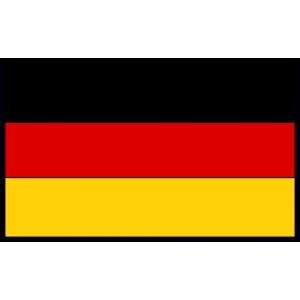 Disegno di bandiera tedesca a colori per bambini gratis - Bandiera della pagina di colorazione della germania ...