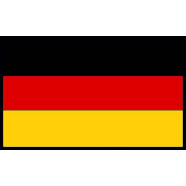 Disegno di bandiera tedesca a colori per bambini - Bandiera della pagina di colorazione della germania ...