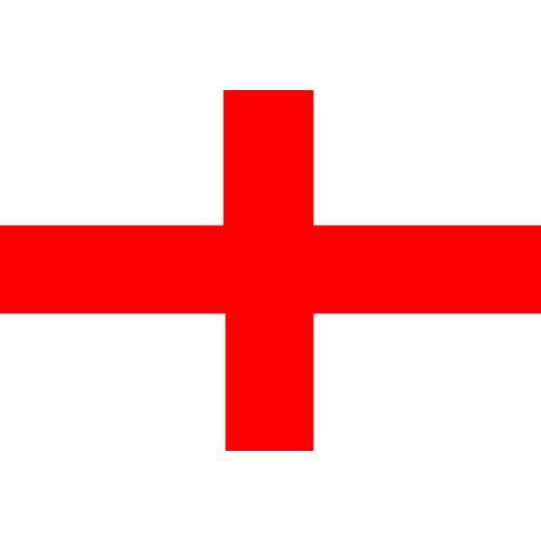 Disegno di Bandiera Inglese a colori