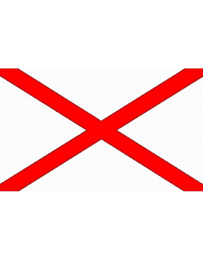 disegno di Bandiera Irlanda del Nord a colori