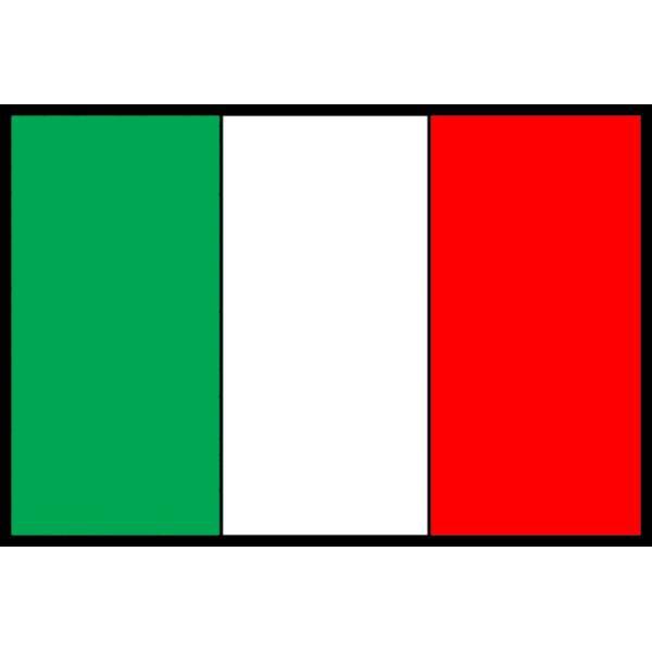 Disegno di Bandiera Italiana a colori