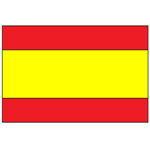 Disegno di Bandiera Spagnola a colori
