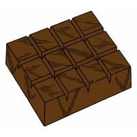Disegno di Barretta di Cioccolato a colori