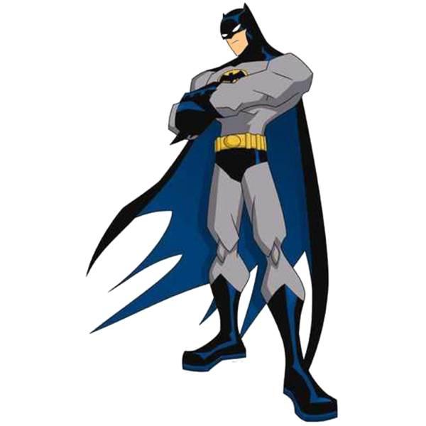 Disegno di Batman a colori