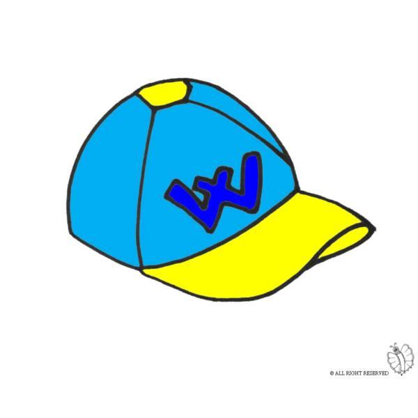 Disegno di Cappellino a colori