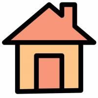Disegno di Casa a colori