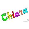 Disegno di Chiara a colori