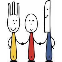 Disegno di Coltello Forchetta Cucchiaio a colori