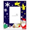 Disegno di Cornice di Natale Verticale a colori