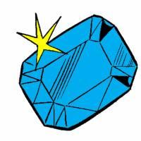 Disegno di Diamante a colori