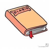 Disegno di Diario a colori