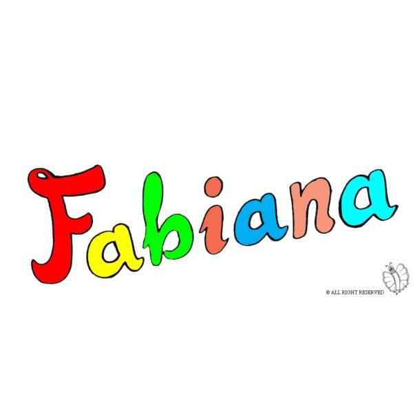 Disegno di Fabiana a colori