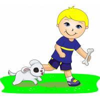 Disegno di Giocare con gli Animali a colori
