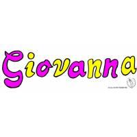 Disegno di Giovanna a colori