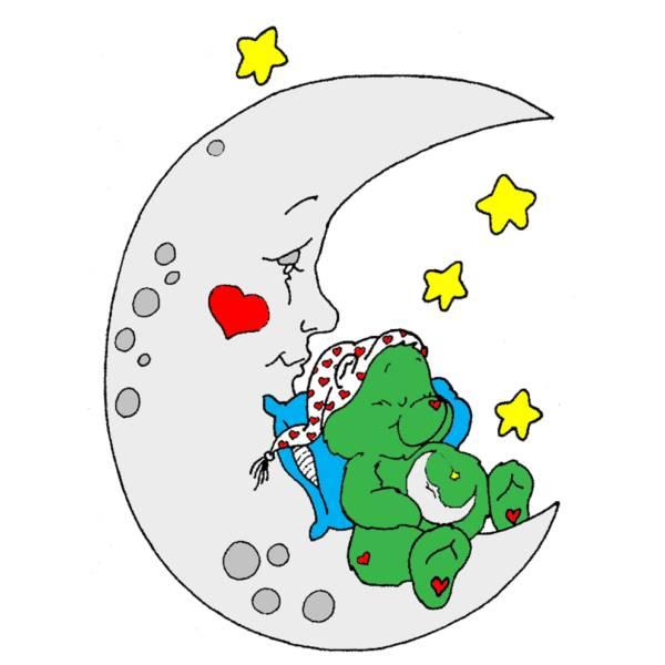 Disegno di orsetto del cuore a colori per bambini for Disegno del piano online