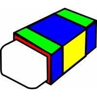 Disegno di Gomma per Cancellare a colori
