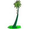 Disegno di Palma Isola Deserta a colori
