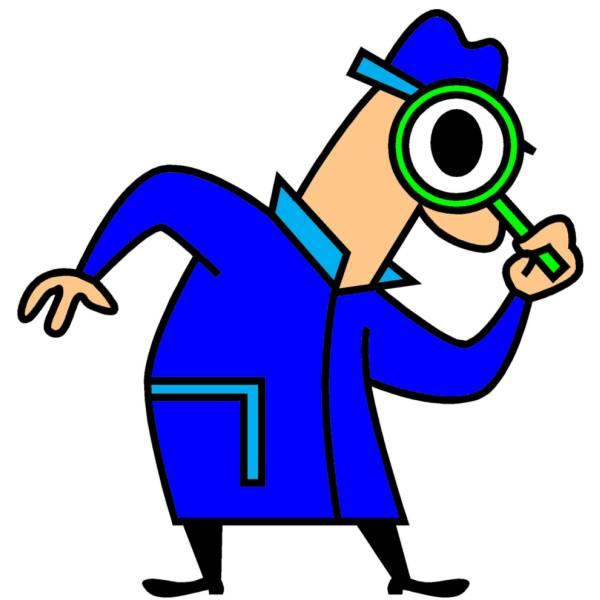 Disegno di Investigatore a colori