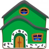 Disegno di La Casa a colori