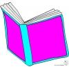Disegno di Libro Aperto a colori