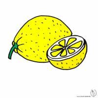 Disegno di Limone a colori