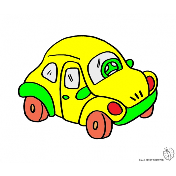 Disegno Di Maggiolino A Colori Per Bambini Disegnidacolorareonlinecom