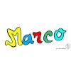 Disegno di Marco a colori