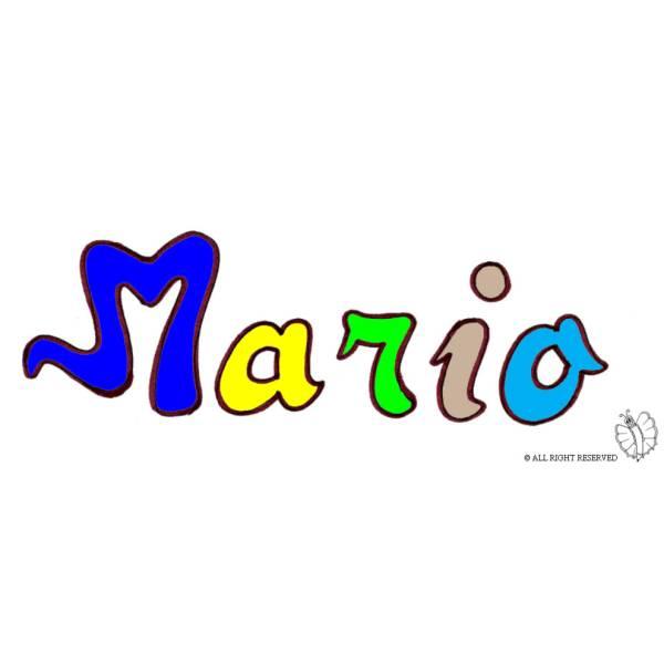 Disegno di Mario a colori