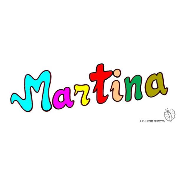 Disegno di Martina a colori
