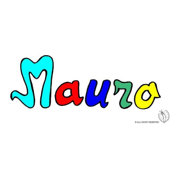 Disegno di Mauro a colori