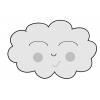 disegno di Nuvola Sorridente a colori