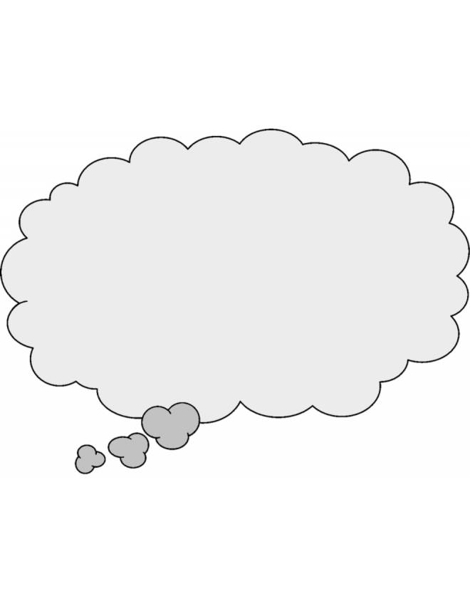 disegno di Nuvola per Fumetto a colori