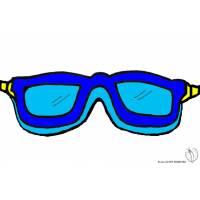 Disegno di Occhialini Mare a colori