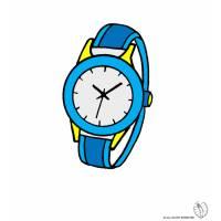 disegno di Orologio da Polso a colori