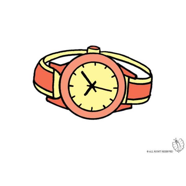 Disegno di Orologio Gioielli a colori