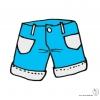 Disegno di Pantaloncini a colori