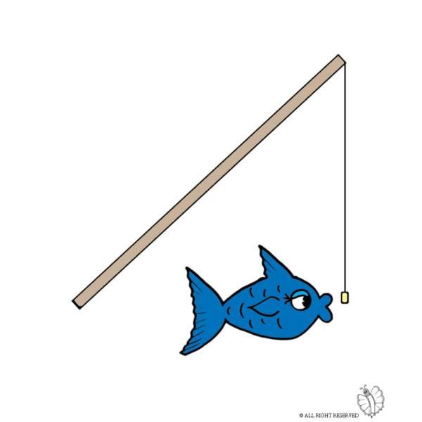 Disegno di A Pesca a colori