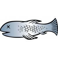 Disegno di Pesce d'Aprile a colori