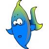 Disegno di Pesce Tropicale a colori