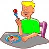 Disegno di Piatto Spaghetti e Polpette a colori