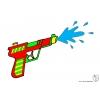 Disegno di Pistola ad Acqua a colori