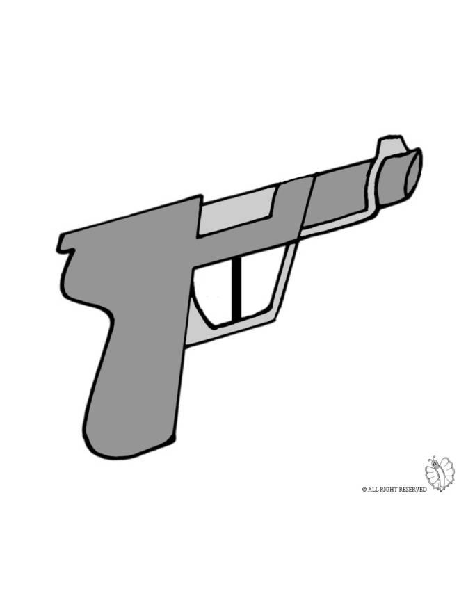 disegno di Pistola a colori