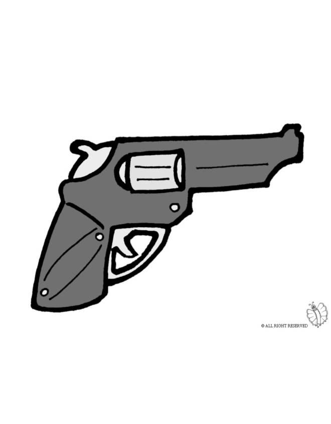disegno di Pistola Revolver a colori