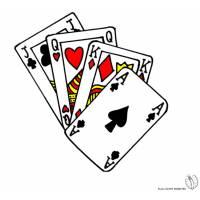 Disegno di Carte da Gioco a colori