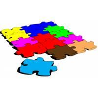 Disegno di Puzzle a colori