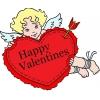 Disegno di Buon San Valentino a colori