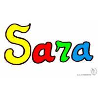 Disegno di Sara a colori