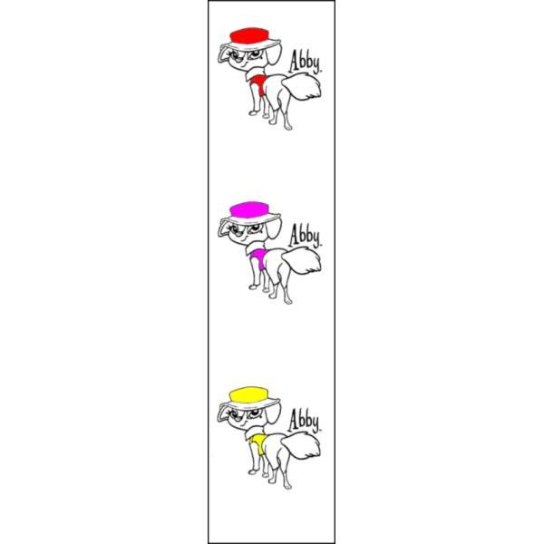Disegno di Segnalibro Abby Bratz a colori