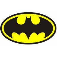Disegno di Simbolo di Batman a colori