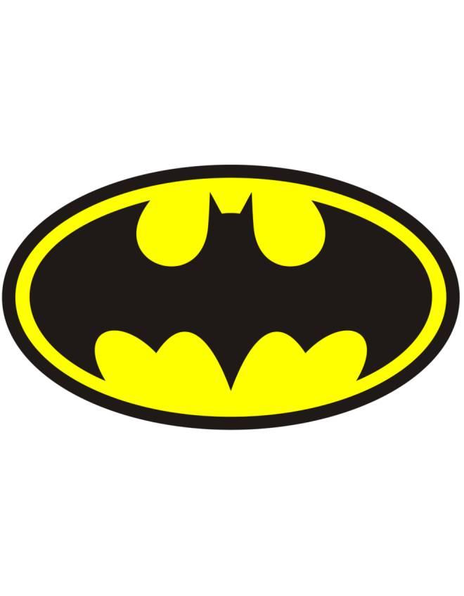 Disegno Di Simbolo Di Batman A Colori Per Bambini Disegnidacolorareonline Com